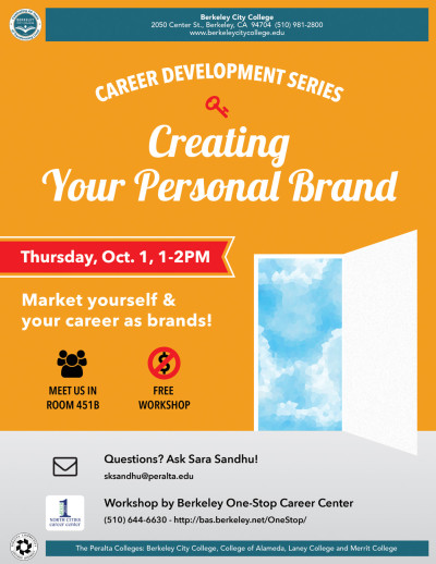 Career Development Series: Personal Branding
